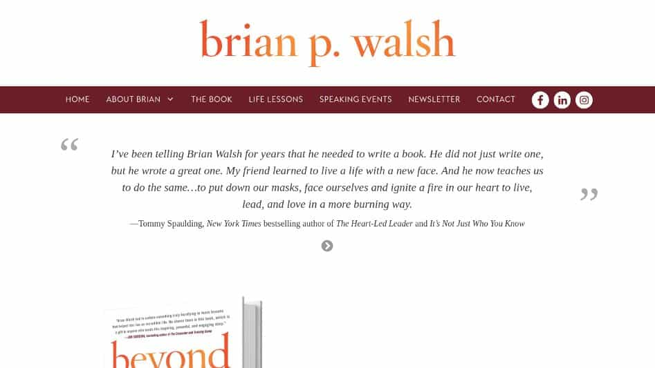 Brian Walsh Featured Image